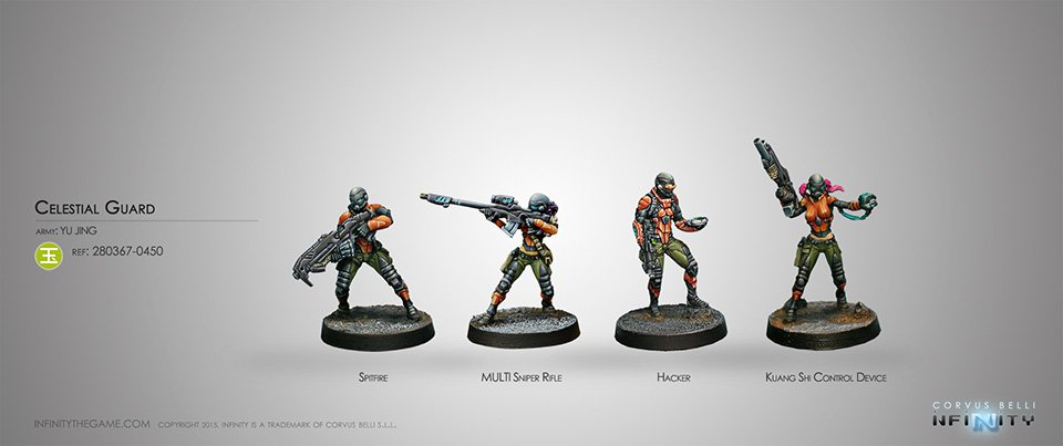 Inf - Yu Jing - Celestial guards (new version)