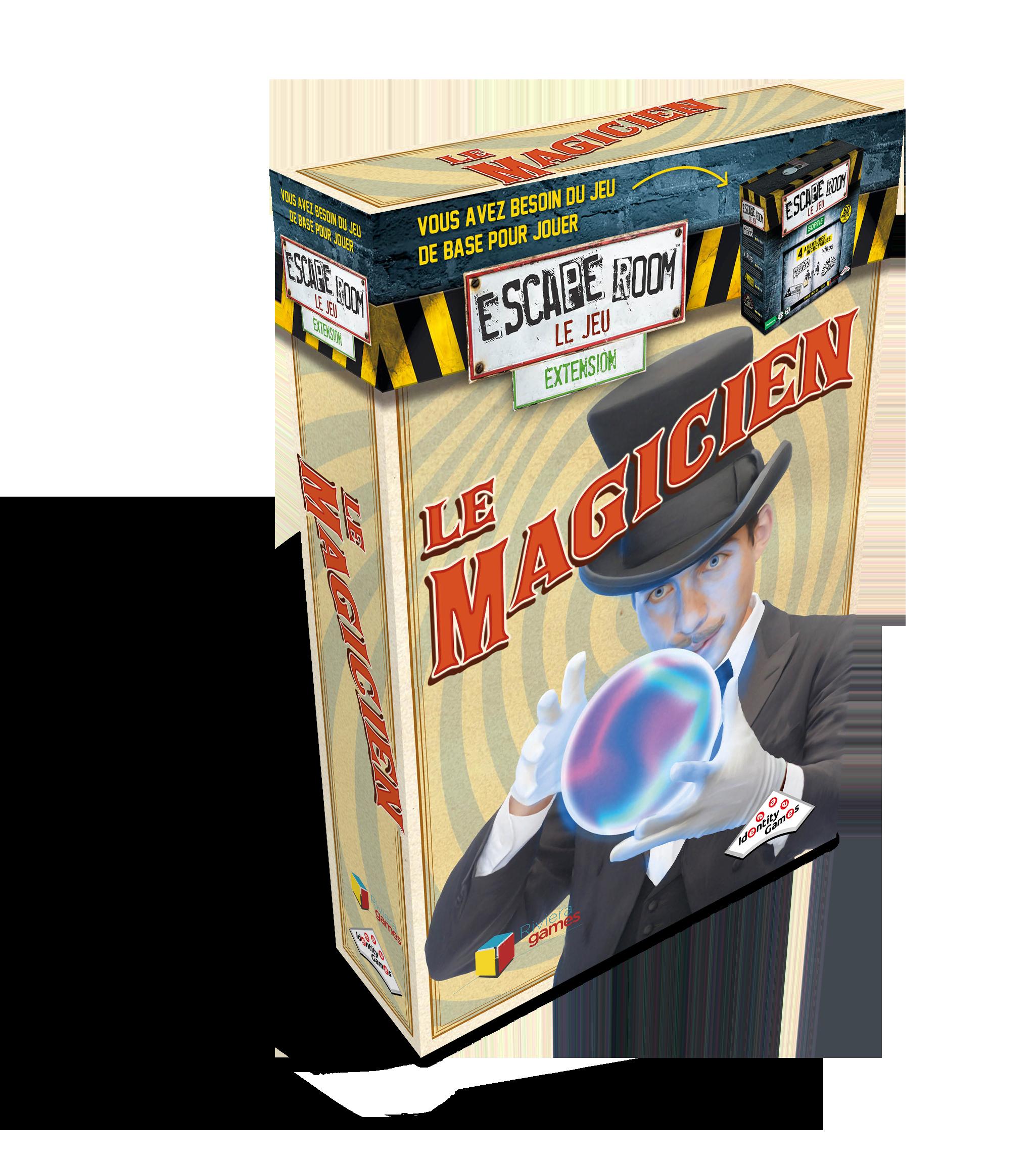 Escape Room : Le magicien (Extension)