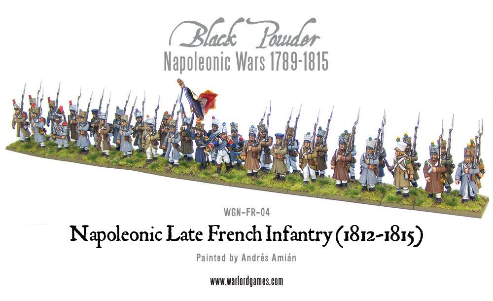BP - Late french line infantry (1812-1815)