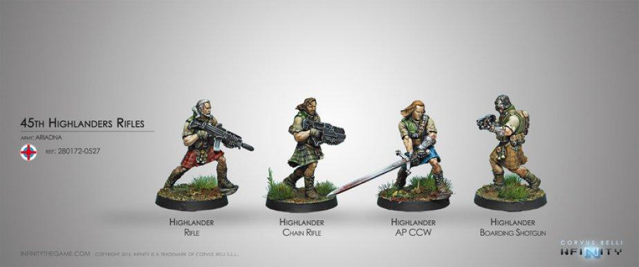 INF - Ariadna - 45th Highlander Rifles