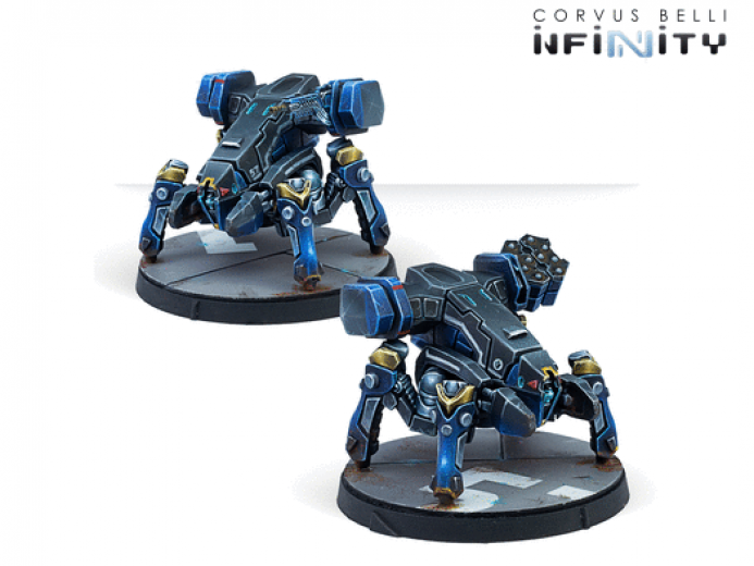 INF - CopperBots - Remotes pack  (code one)
