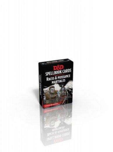 D&D - Spellbook Cards Puissance Martiale & Races (fr)
