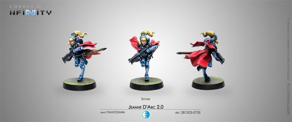 Inf - Panoceania - Jeanne d'arc (Spitfire)
