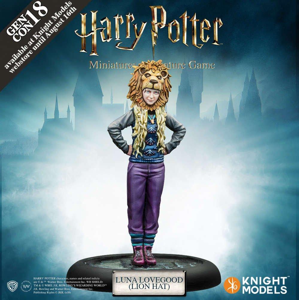 Harry Potter Miniatures - Luna Lovegood Lionhat