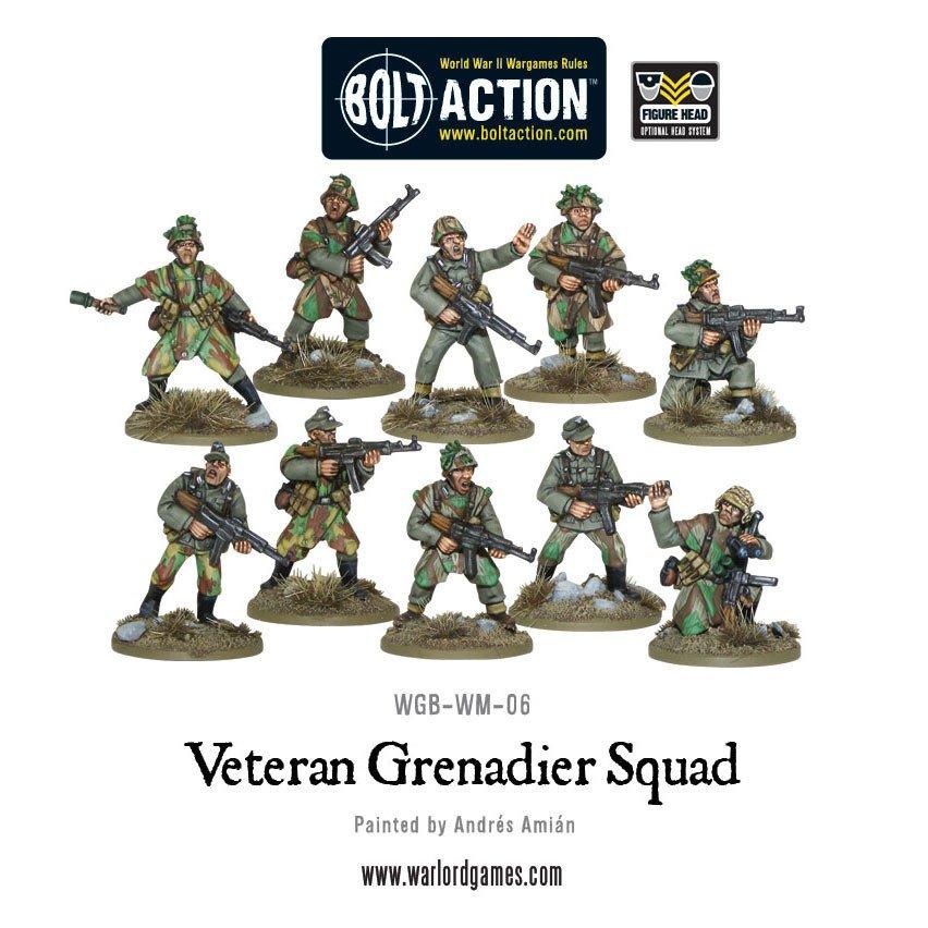 BA - German veteran grenadier squad