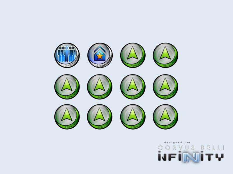 INF - Infinity Tokens Regular (12)