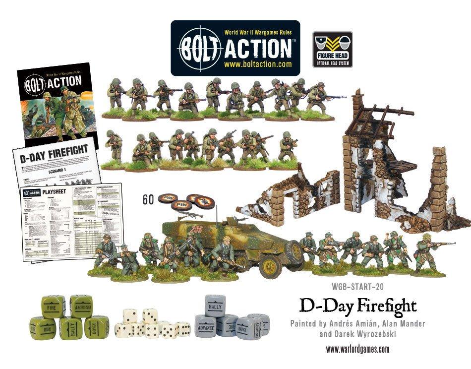 BA - D-Day firefight WWII starter set