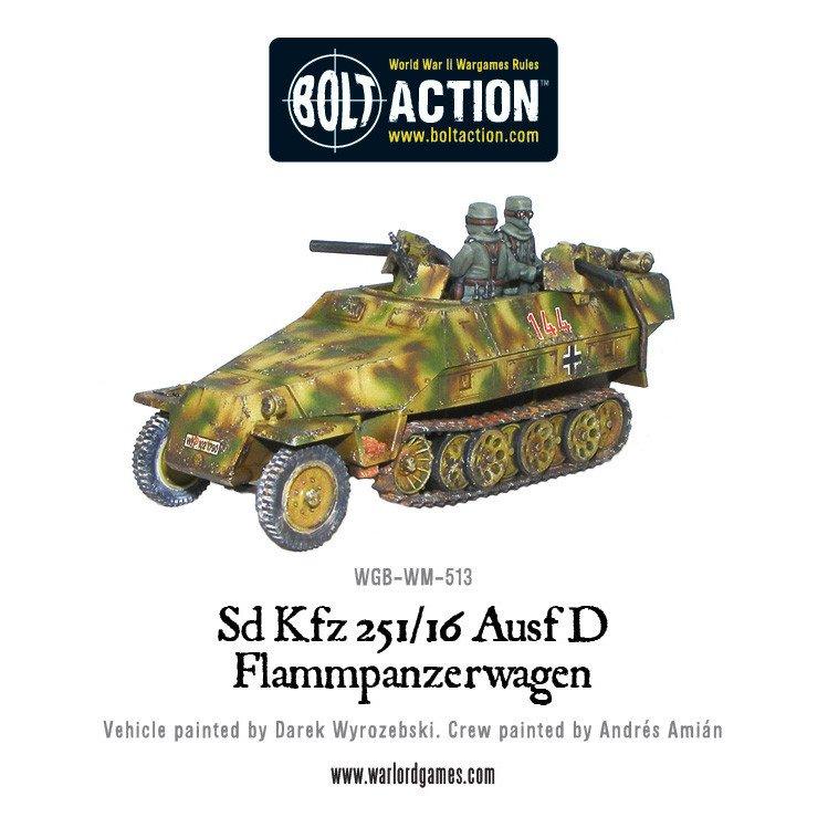 BA - SD.KFZ 251/16 ausf D flammpanzerwagen