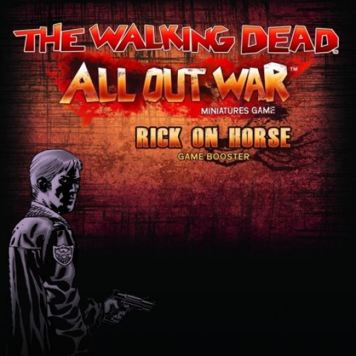 The Walking Dead All Out War - rick on horse