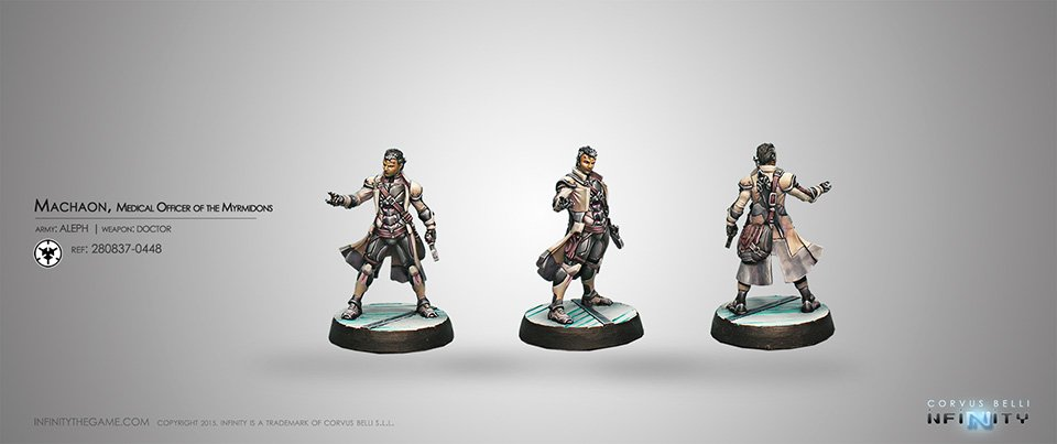 Inf - aleph - Machaon, Myrmidon Doctor-Officer