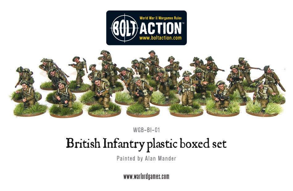 BA - British - British infantry