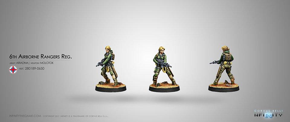 Inf - Ariadna - 6th Airborne ranger reg.
