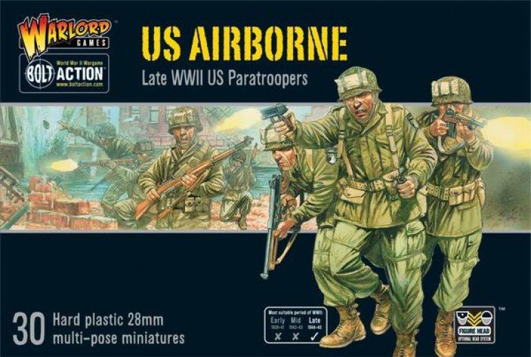 BA - US - Airborne (30 figurine plastique)