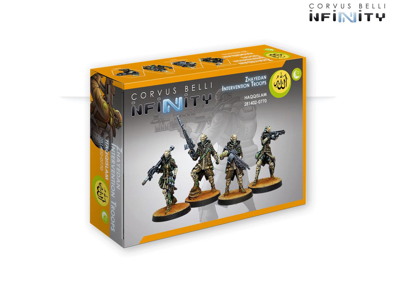 INF - Haqqislam - Zhayedan Intervention troops