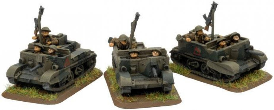FoW - GB - Scout Carrier Platoon