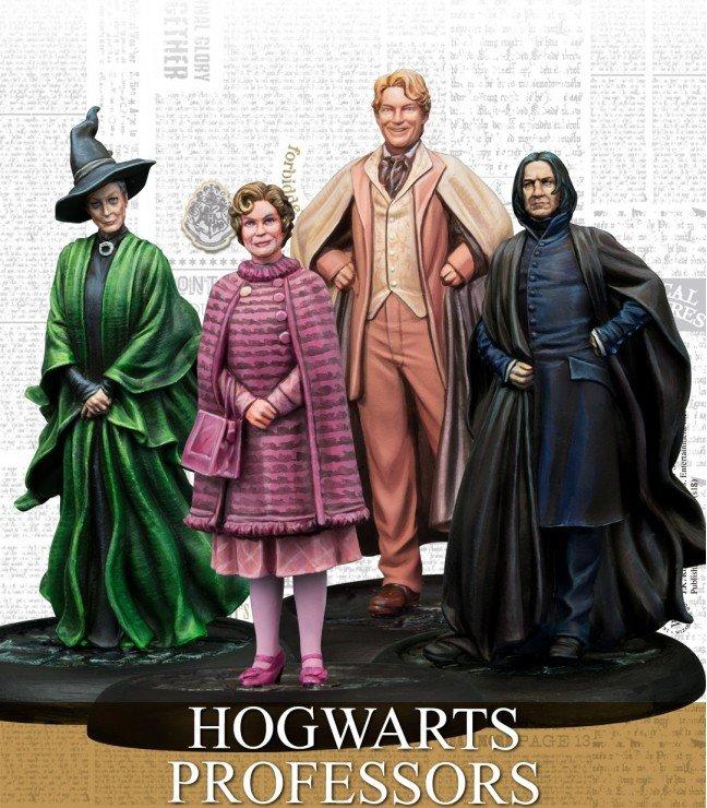 Harry Potter Miniatures - Hogwarts Professors