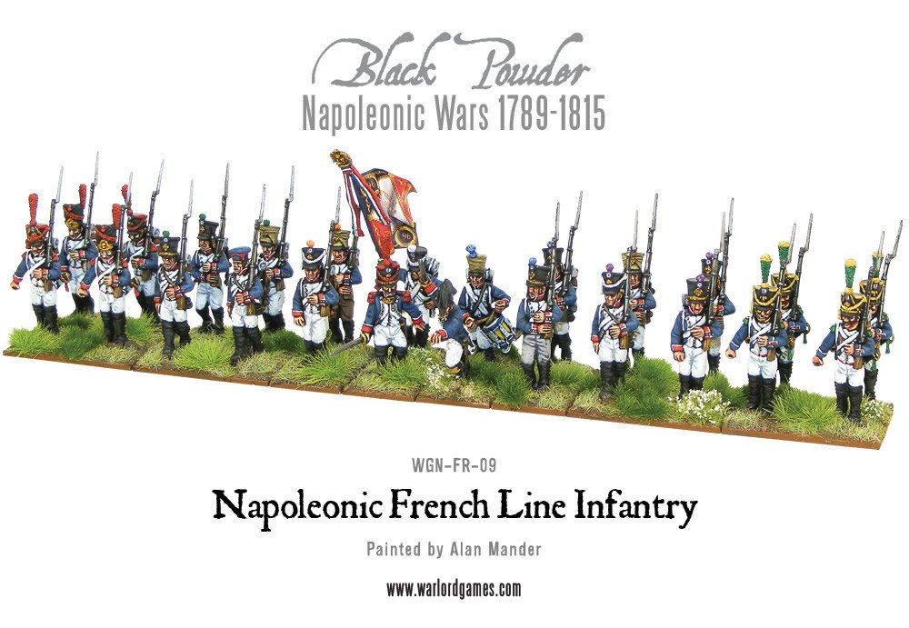 BP - French line infantery