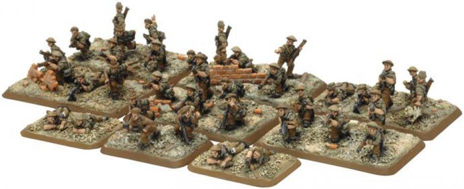 FoW - GB - Commonwealth rifle platoon