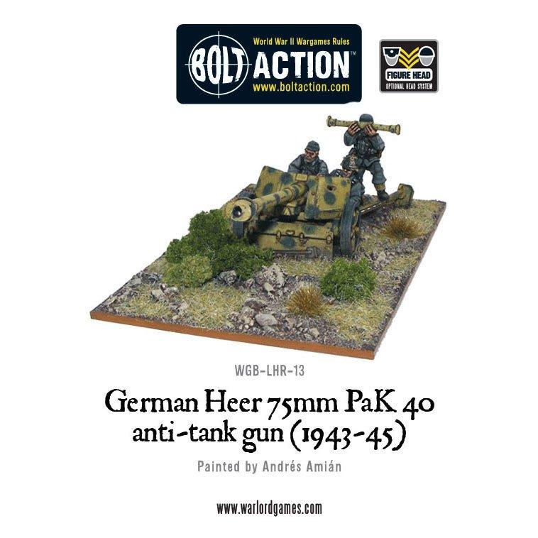 BA - German - German Heer 75mm PAK40 ATG (1943-45)