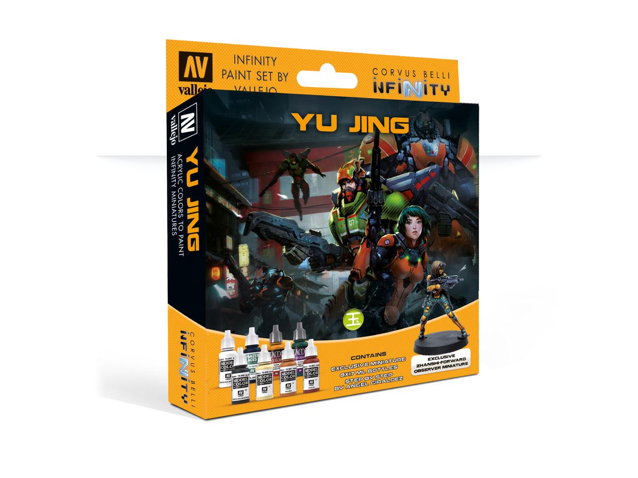 Inf - Yu jing - paint set