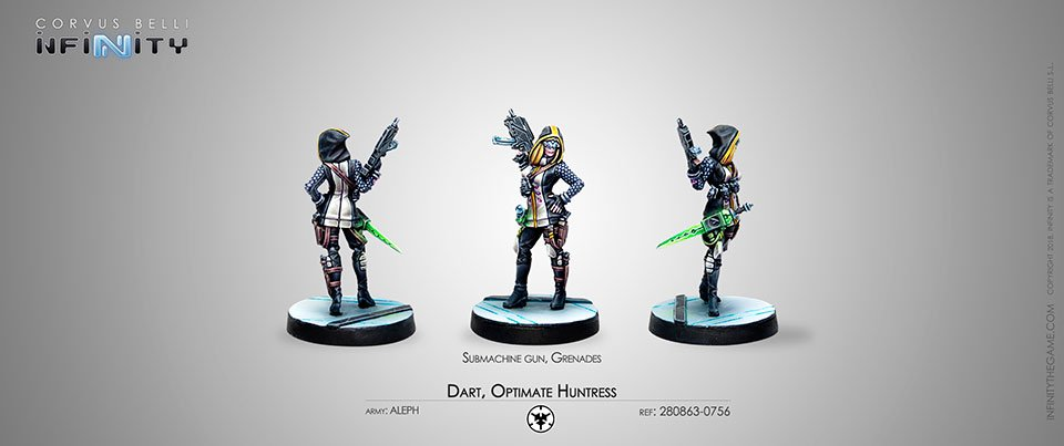 INF - Aleph - Dart optimate huntress