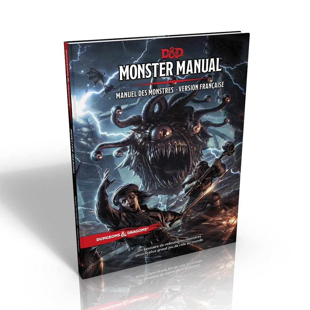 D&D - Monster manual fr
