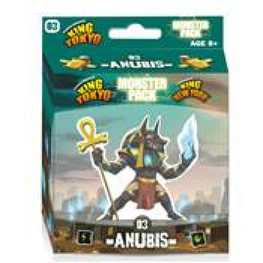 King of Tokyo/New-york : Anubis (monster pack)