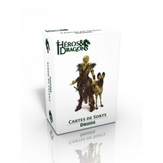 Héros & Dragons : Carte de sort - Druide