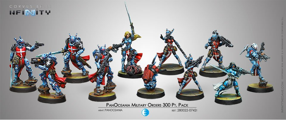 INF - PanOceania - Military Orders 300 PT. Pack