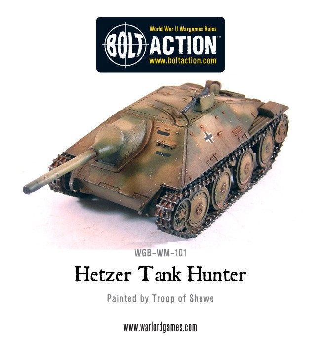 BA - German - Jagdpanzer 38(t) Hetzer, german tank destroyer