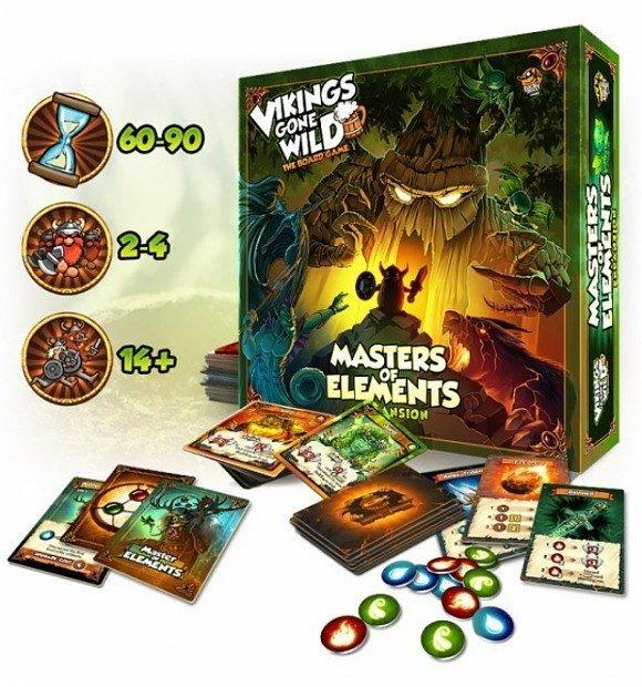 Vikings Gone Wild - Masters of elements (fr)