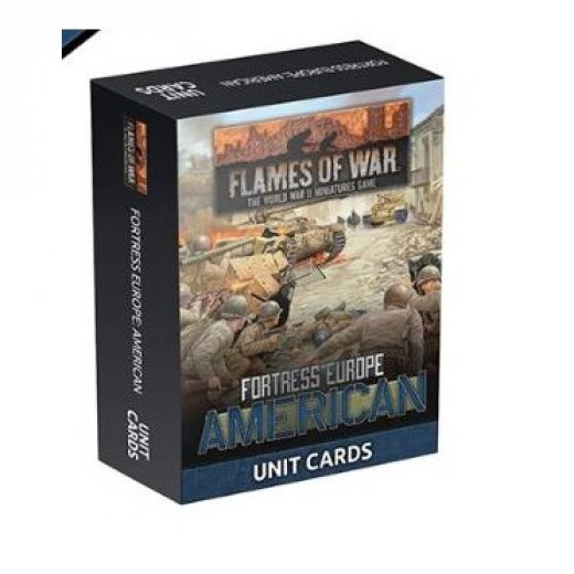 FoW - Fortress Europe : American unit card