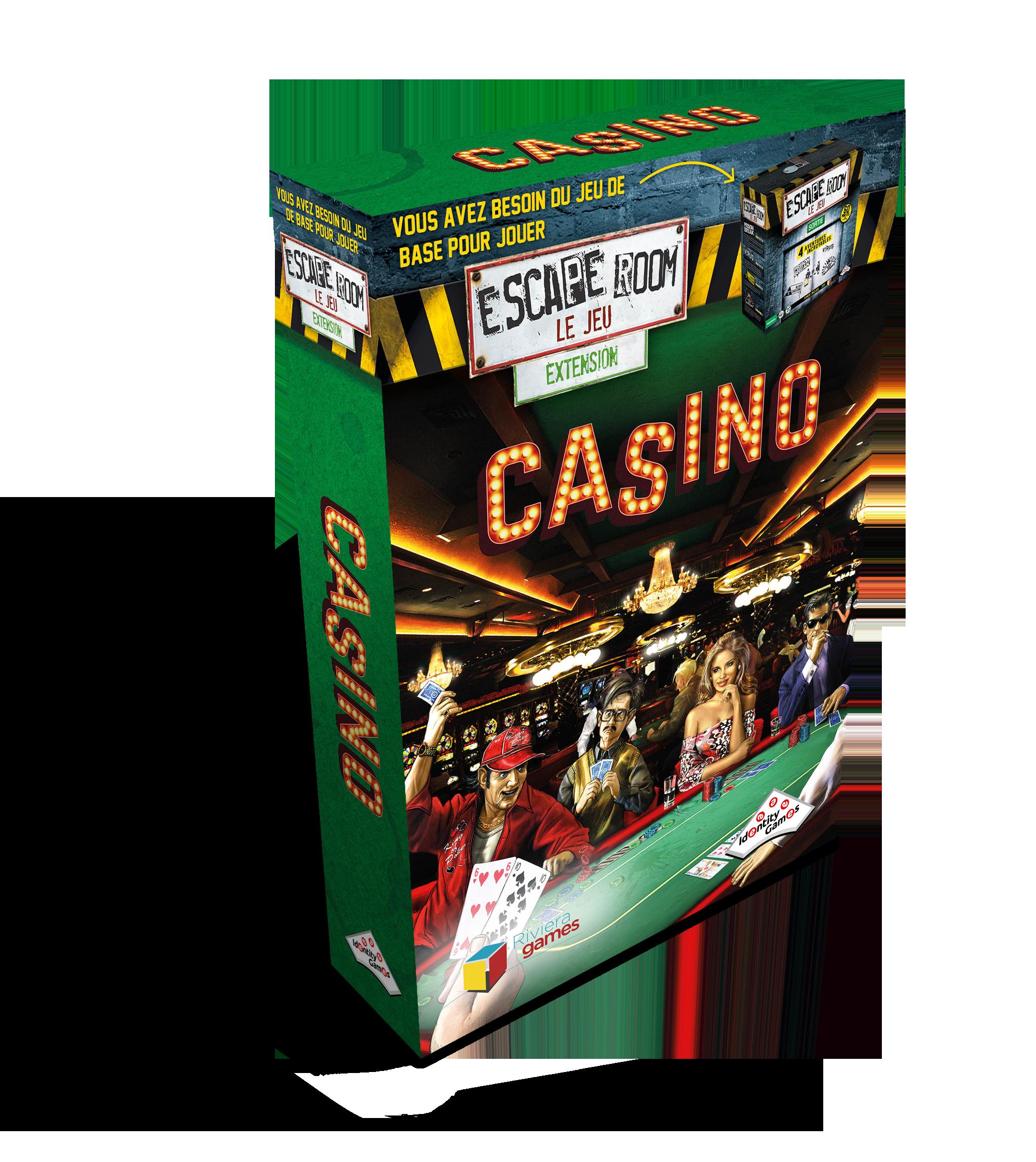 Escape Room : Casino (Extension)