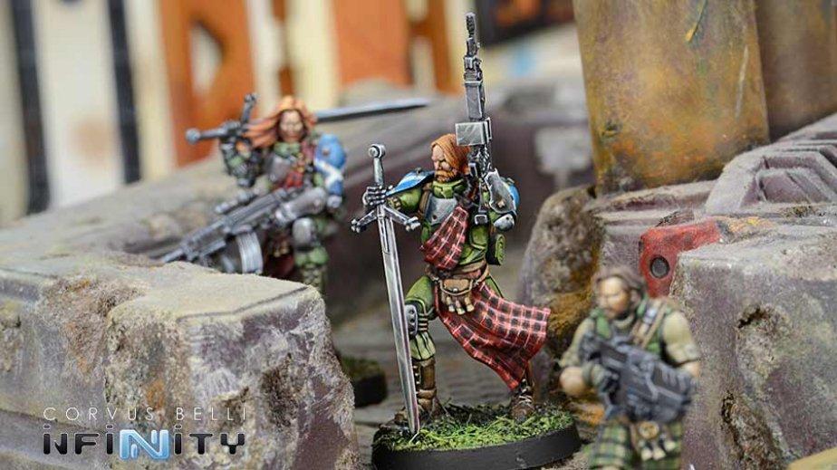 INF - Ariadna - 3rd. Highlander grey rifles