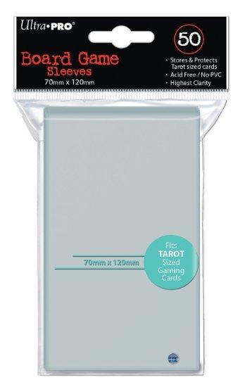 Protège carte Tarot sized (70x120mm) x50