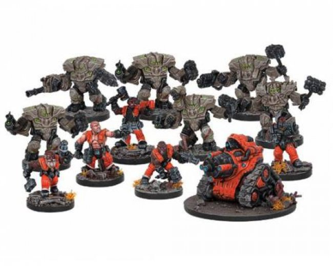 DEADZONE FORGE FATHER FACTION STARTER