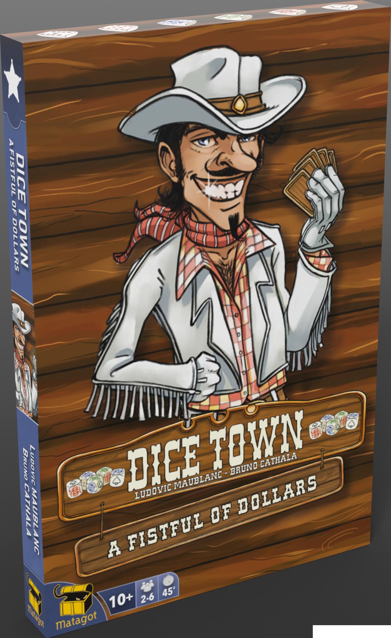 Dice town : Pour une poignée de cartes (Extension)