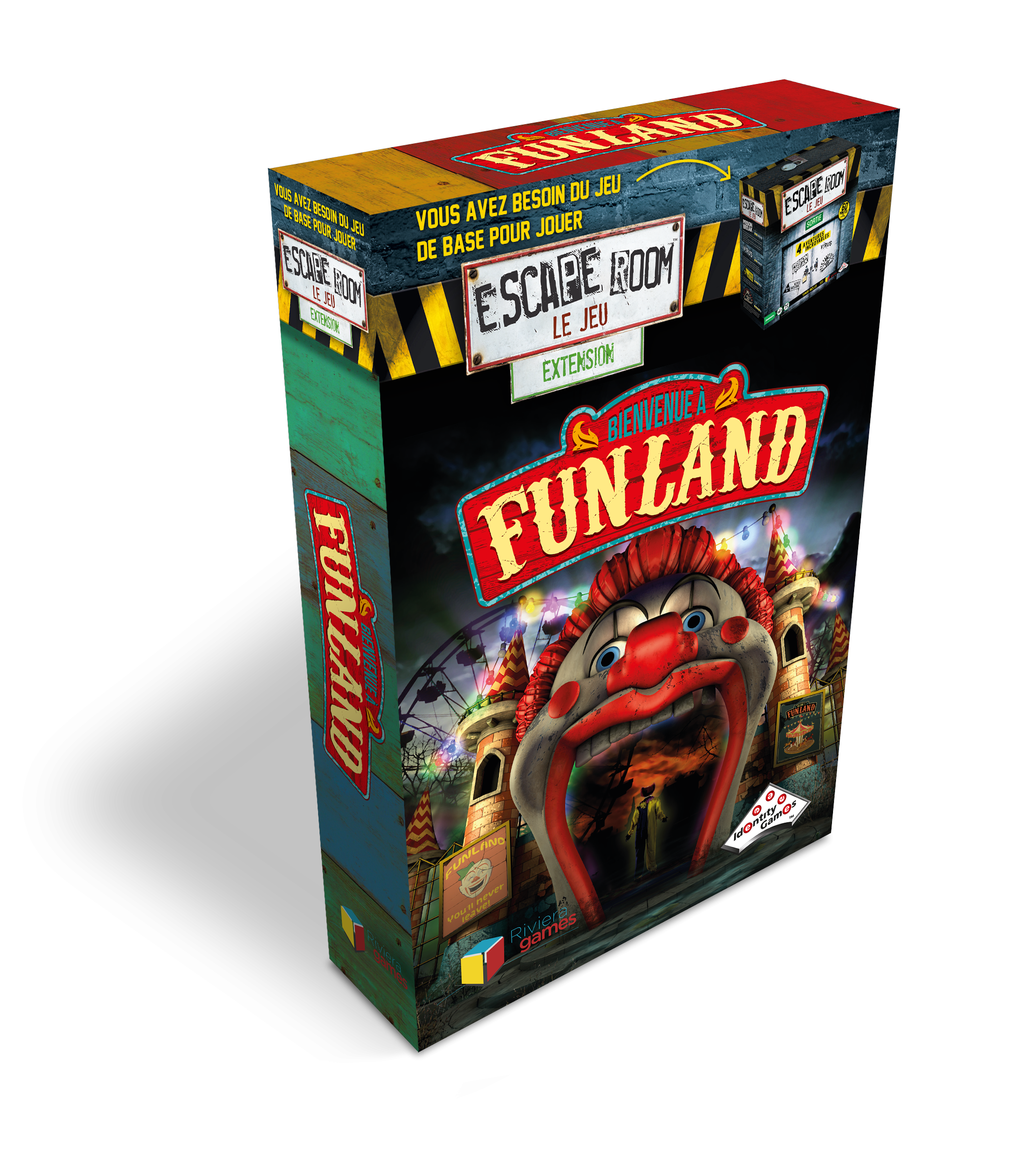 Escape Room : Funland (Extension)