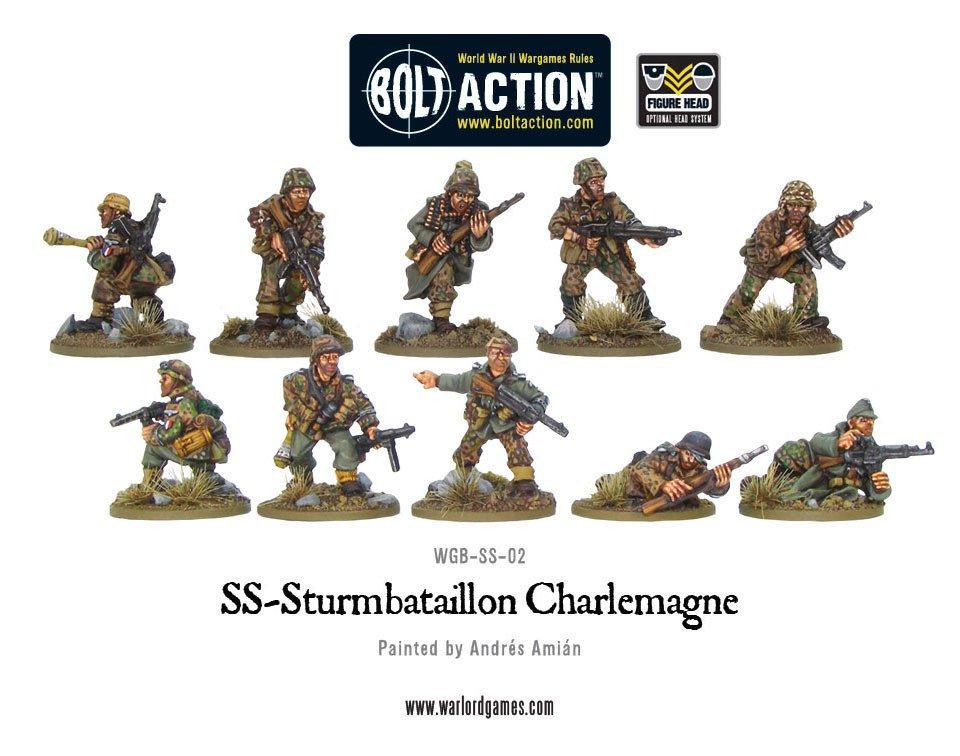 BA - SS-Sturmbataillon Charlemagne