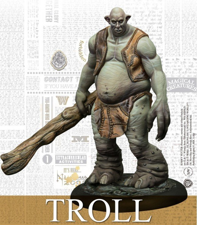 Harry Potter Miniatures - Troll adventure pack