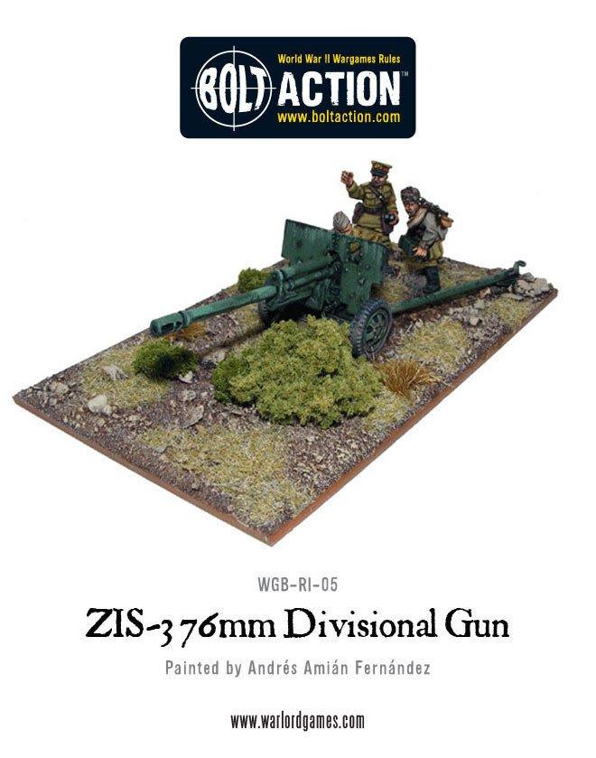 BA - Soviet Army Zis 3 Gun
