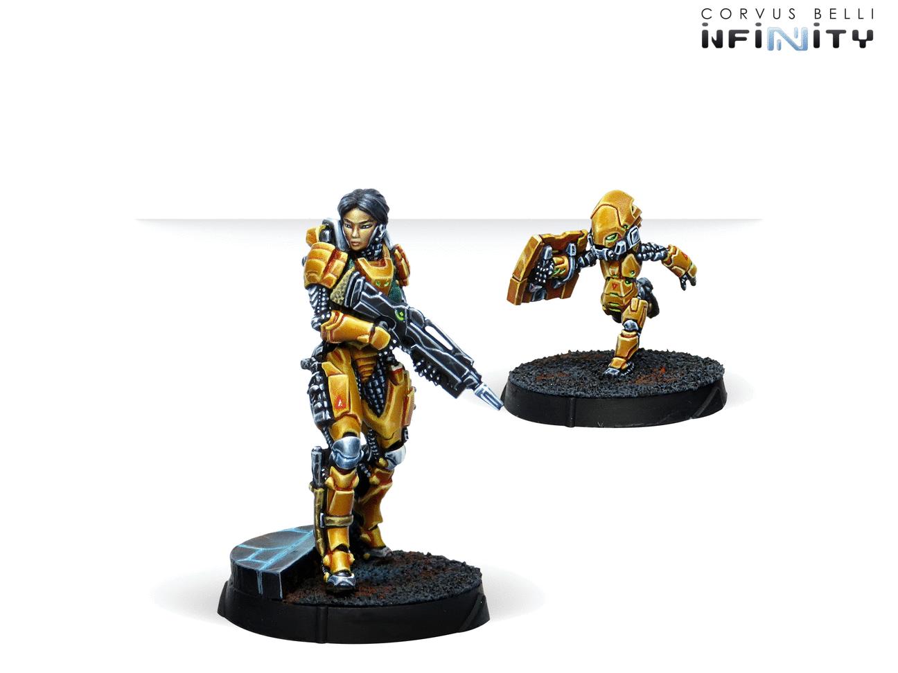Inf - Yu Jing - Tai Sheng, Zuyong invincibles NCO