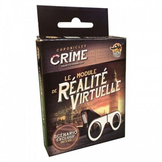 Chronicles of crime - Le module de réalité virtuelle