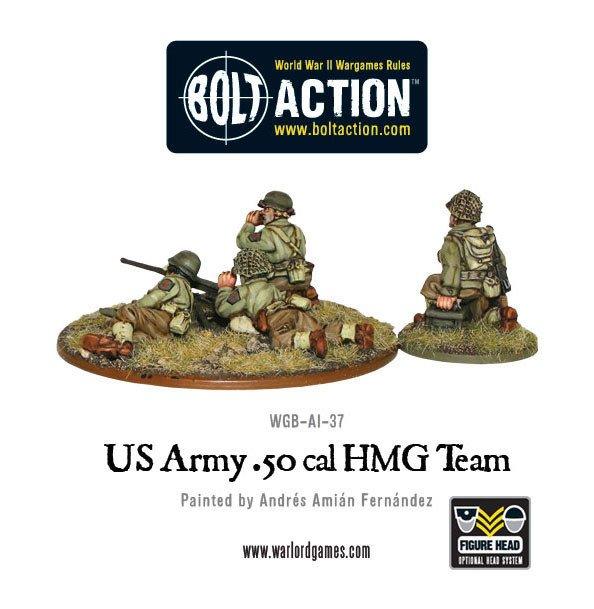 BA - US - Us army 50 cal HMG team