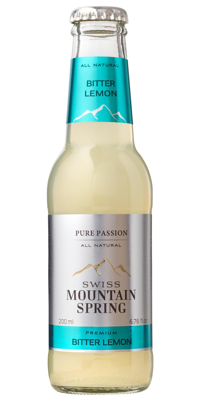 Bitter lemon Swiss Mountain Spring