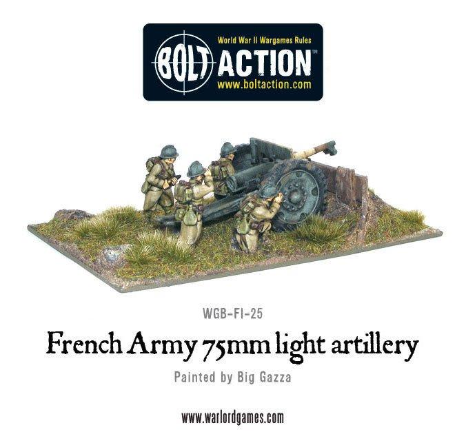 BA - French - 75mm gun French army