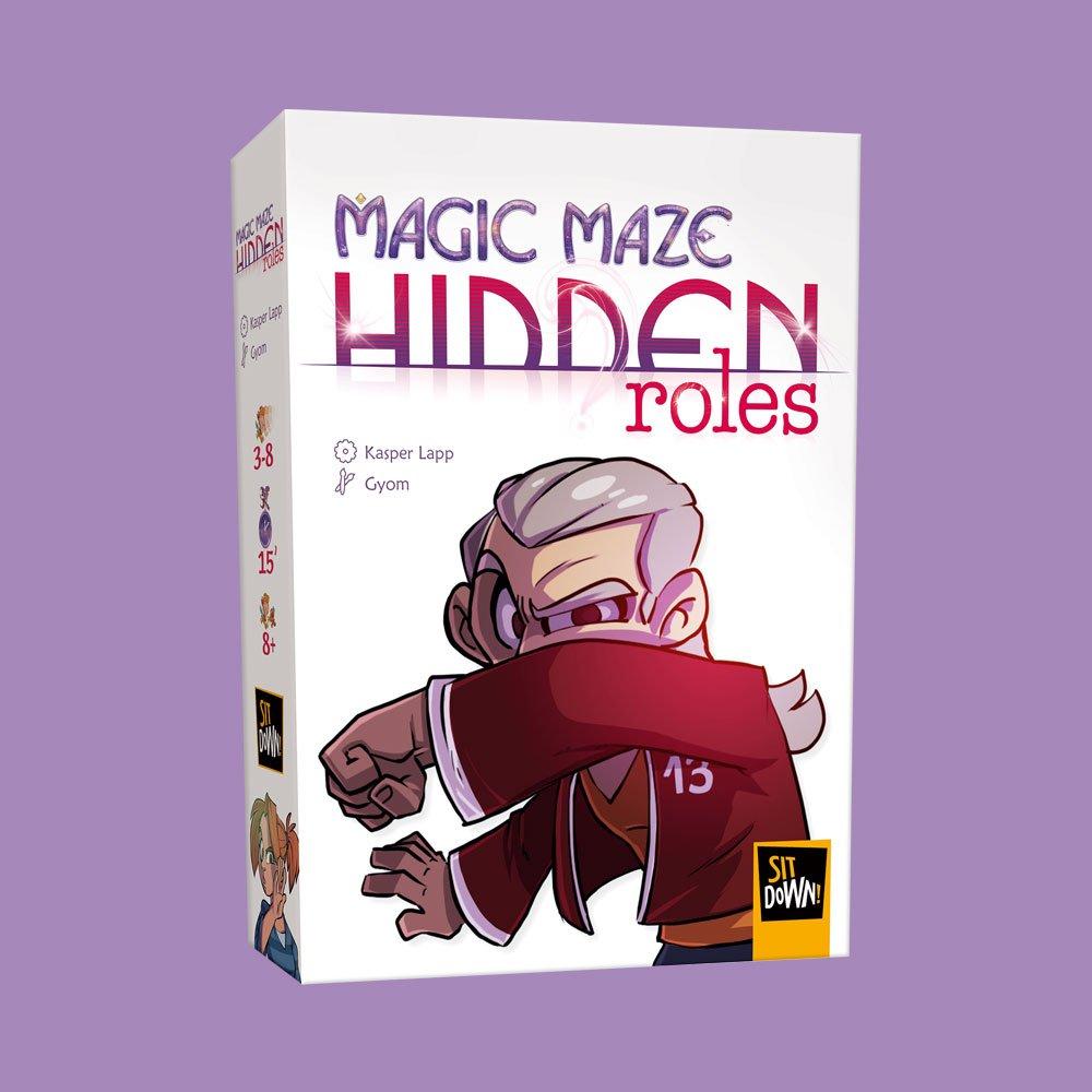 Magic Maze : Hidden roles