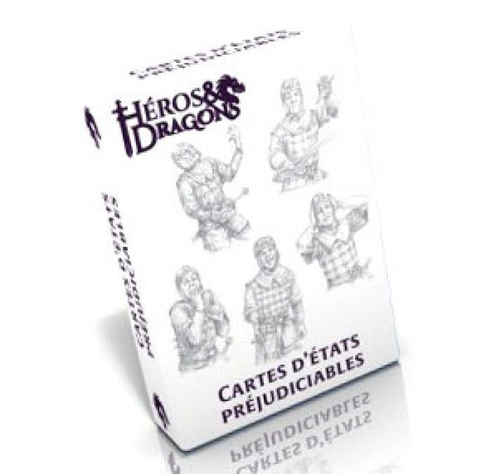 Héros & Dragons : carte d'états préjudiciables