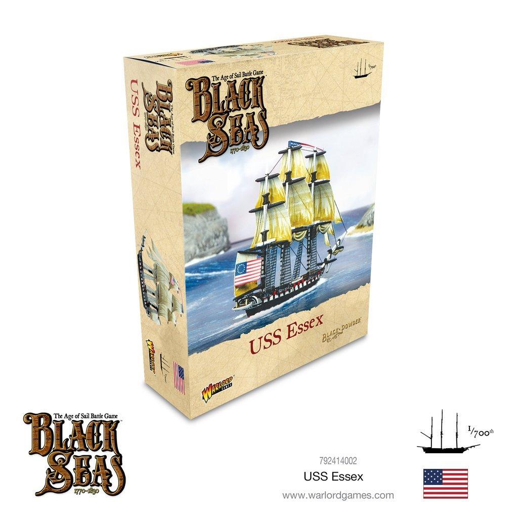 Black seas : USS Essex