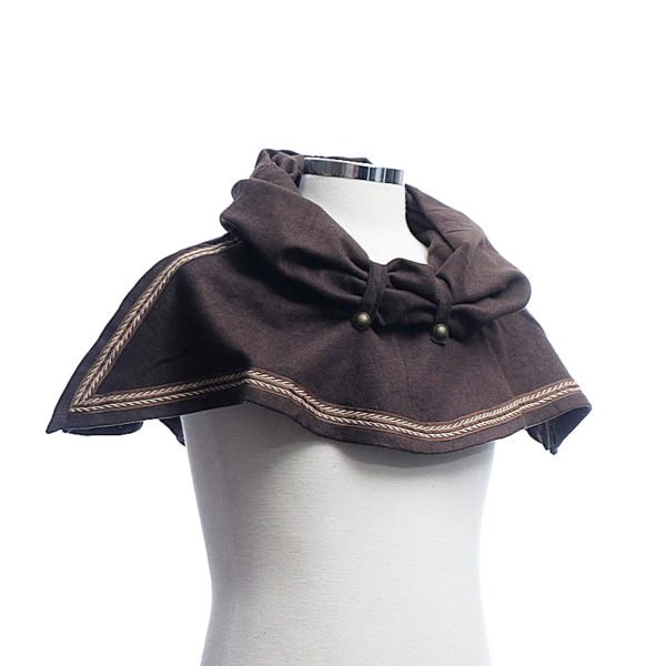 Capuche brune (Snood hood Brown)